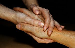 Gefasste Hände