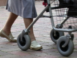 Rollatorfüße
