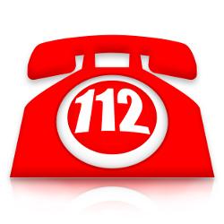 Telefon mit Notrufnummer