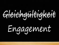Gleichgültigkeit durch Engagement ersetzen