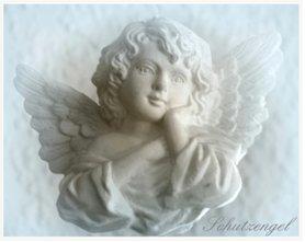 Bild eines Engelkopfs