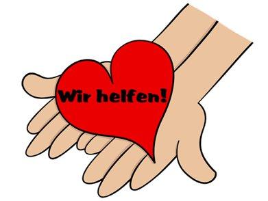 Hände mit Herz